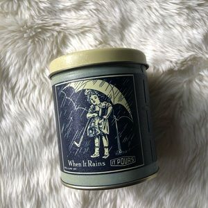 Vintage Morton's Salt Tin Can